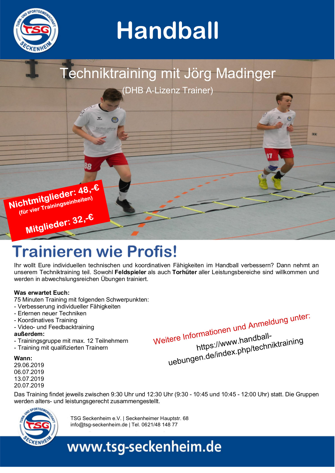 Techniktraining TSG
