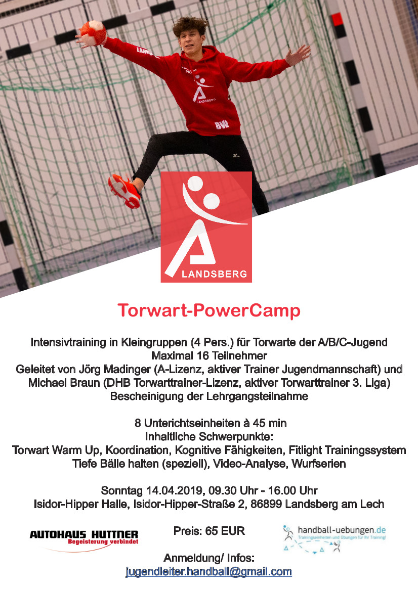 Torwart Flyer